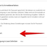 Google Passwortändern 3