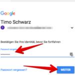 Google Passwort ändern 4