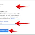 Google Passwort ändern 5