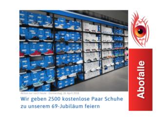 Kettenbrief 2500 kostenlose Adidas Schuhe 0