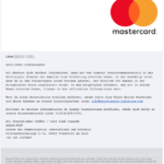 Mastercard Lottomatic E-Mail Antwort