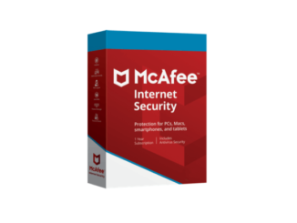 McAfee Internet Security Produktbild