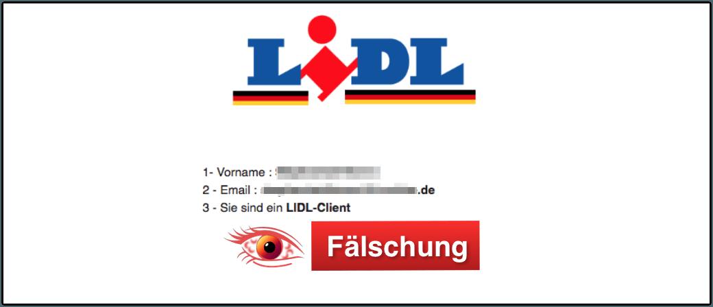 2018-05-03 Lidl E-Mail Datensammler