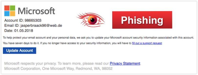 2018-05-08 Microsoft Phishing