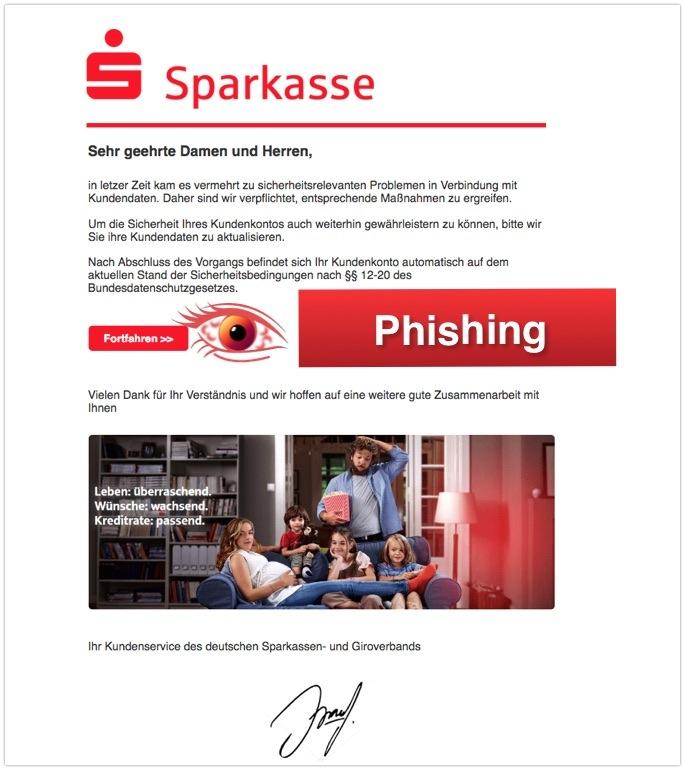2018-05-16 Sparkasse Phishing