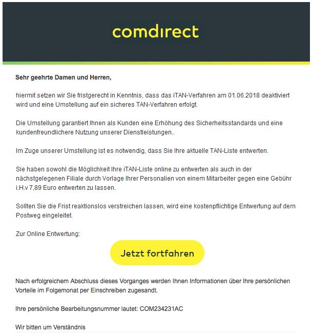 Comdirect Mail