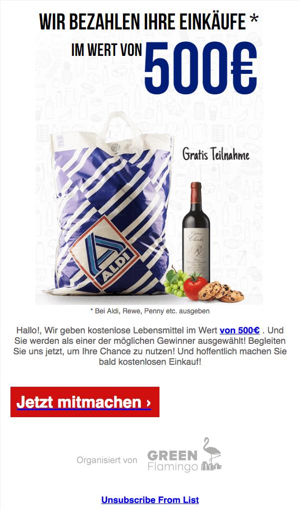 2018-07-05 Aldi Gutschein Mail