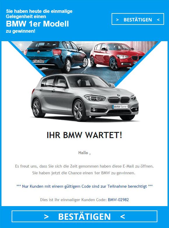 2018-10-17 Gewinnspiel 1er BMW