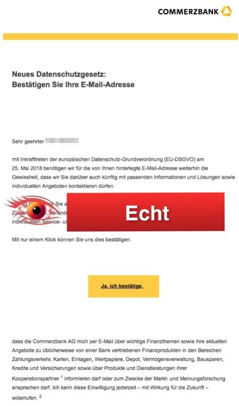 Adresse Commerzbank