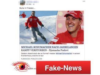 Fake-News Michael Schumacher ist tot