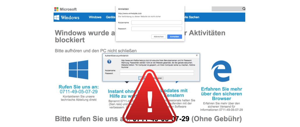 Microsoft Aktuelle Virus Warnung Bitte Lesen