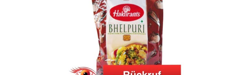 Global Foods Trading GmbH ruft Haldiram's BHELPURI (Snack) zurück