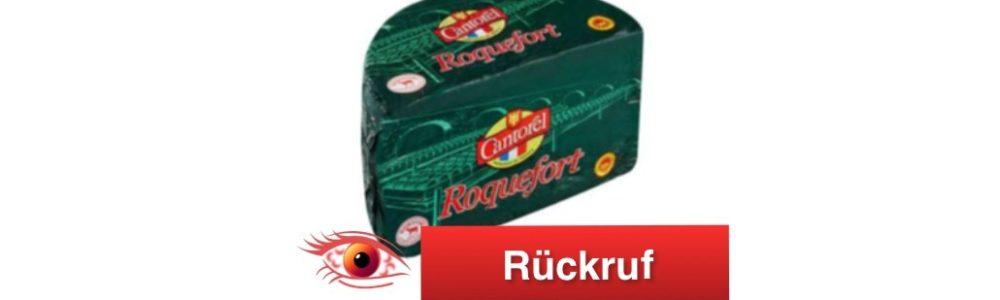 Les Fromageries Occitanes ruft Roquefort Käse zurück