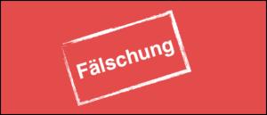 Symbolbild Fälschung
