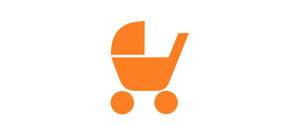 Symbolbild Kinderwagen