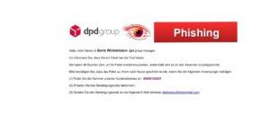 dpd Phishing