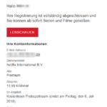 2018_06_15 Netflix erste E-Mail