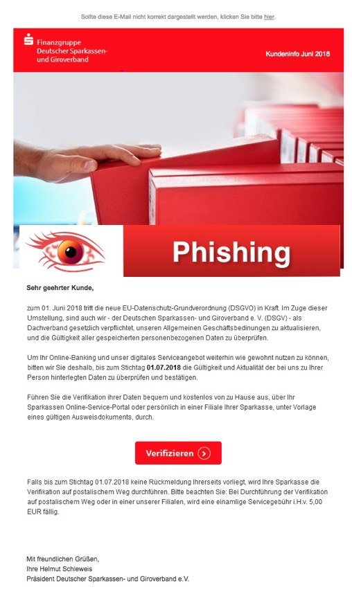 2018-06-05 Phishing Sparkasse