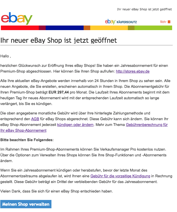 ebay phishing aktuell diese spam mails sind eine. Black Bedroom Furniture Sets. Home Design Ideas