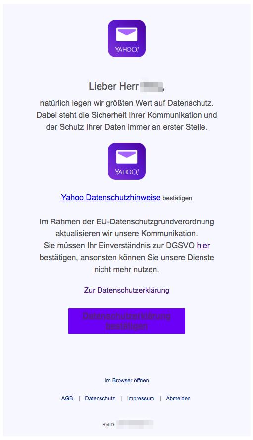 2018-06-28 Yahoo Phishing DSGVO