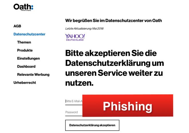 2018-06-28 Yahoo Phishing DSGVO1