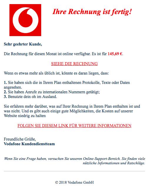 2018-06-25 Vodafone Spam