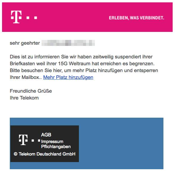 2018-07-05 Telekom Phishing