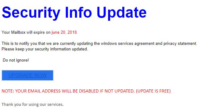 2018_06_26 Microsoft Mail