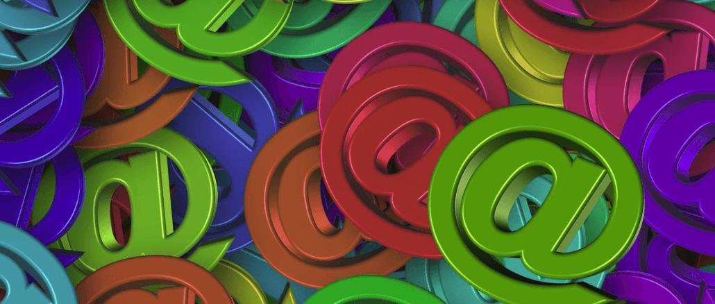 E-Mail Datensätze