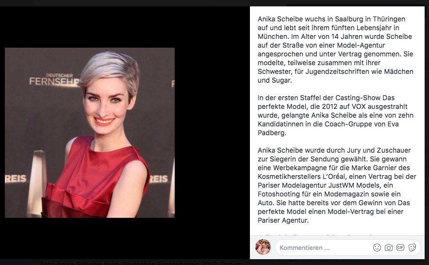 Modelagenturen sprechen auf Strasse an - Anika Scheibe