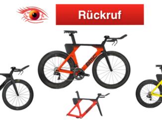 Rückruf BMC Switzerland AG Rennräder Timemaschine 01