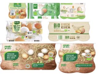 Rückruf Bio-Eier