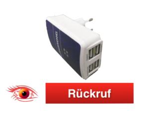 Rückruf Grundig USB Netzteil