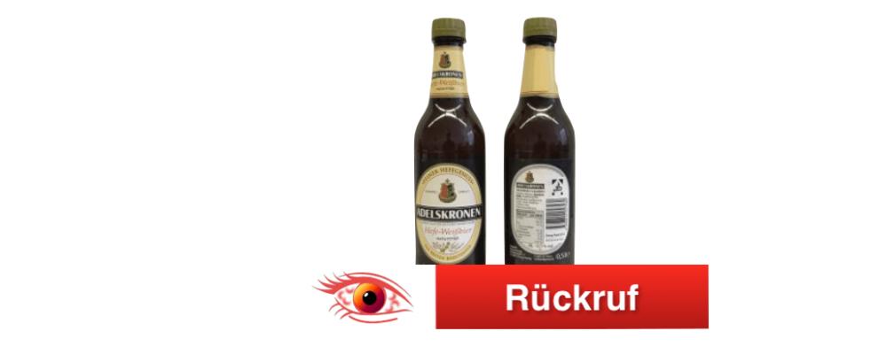 Penny: Rückruf der Biersorte Adelskronen Hefeweizen alkoholfrei