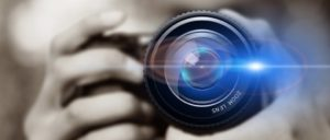 Symbolbild Fotografieren, Model, Fotoapparat, Kamera