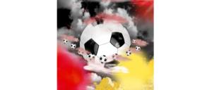 Symbolbild Fußball Weltmeisterschaft Europameisterschaft