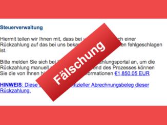 2018-07-09 E-Mail Bundesfinanzministerium Steuerverwaltung Finanzamt