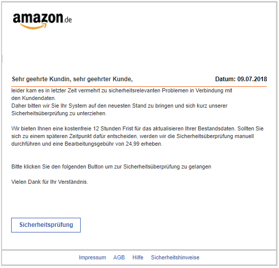 2018-07-10 Amazon Phishing