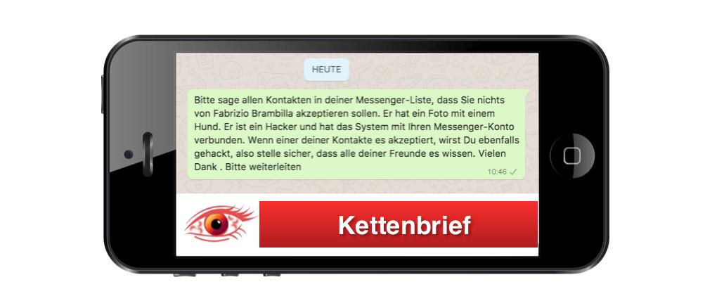 2018-08-10 Kettenbrief zu Hacker Fabrizio Brambilla ist Fake
