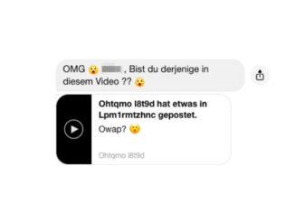2020-01-26 Facebook Messenger Nachricht Video
