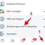 Facebook Freundesliste verbergen 1