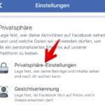 Facebook Freundesliste verbergen 3