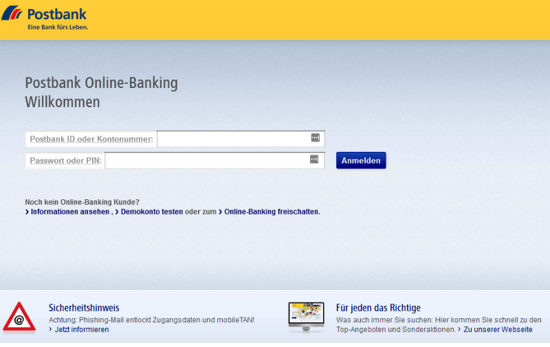 Fake Webseite Bundesfinanzministerium 3