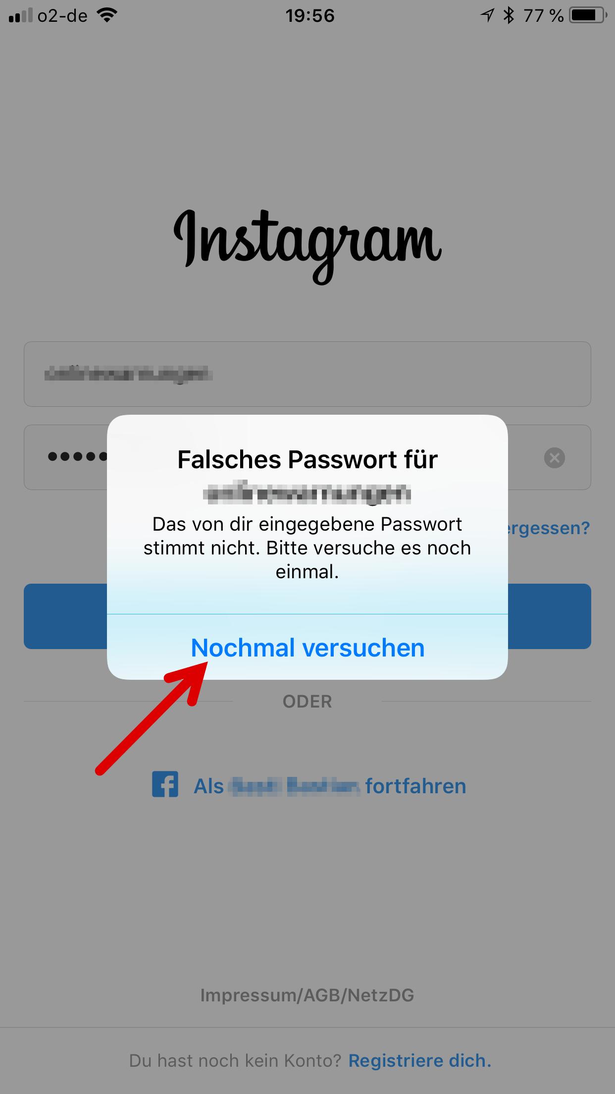 Instagram Gehackt