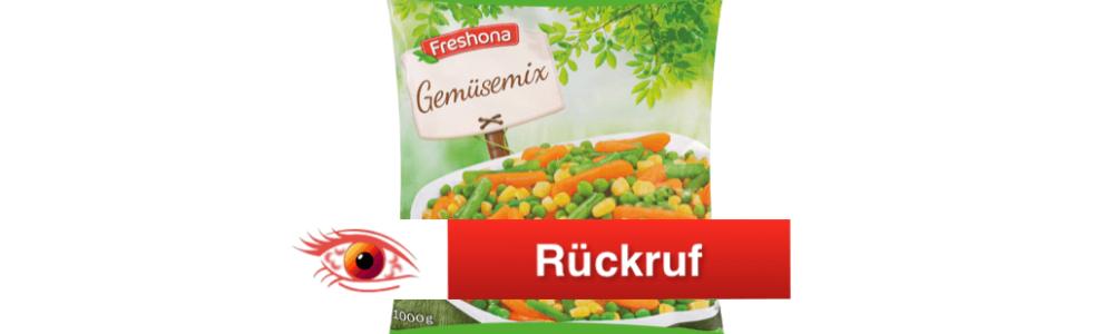 Lidl ruft Freshona Gemüsemix und Green Grocer'sGemüsemix (Tiefkühlware) zurück – Update