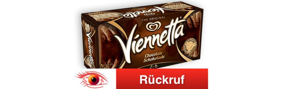 Viennetta Schokoladeneis zurückgerufen – Allergiker aufgepasst
