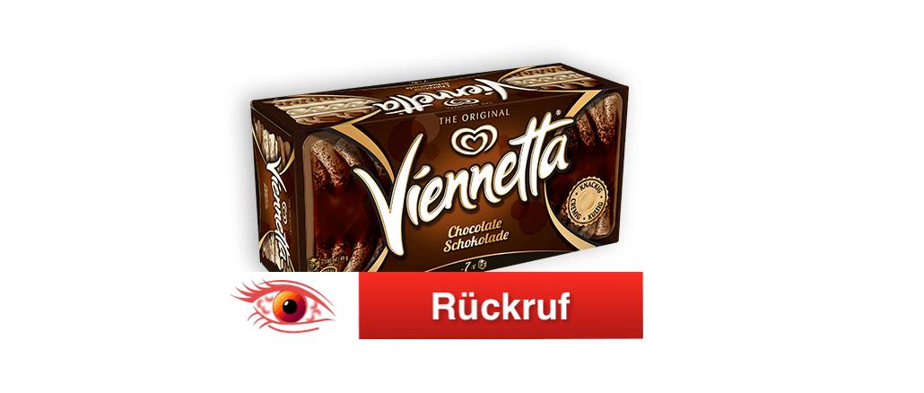 Rückruf Viennetta Schokoladeneis