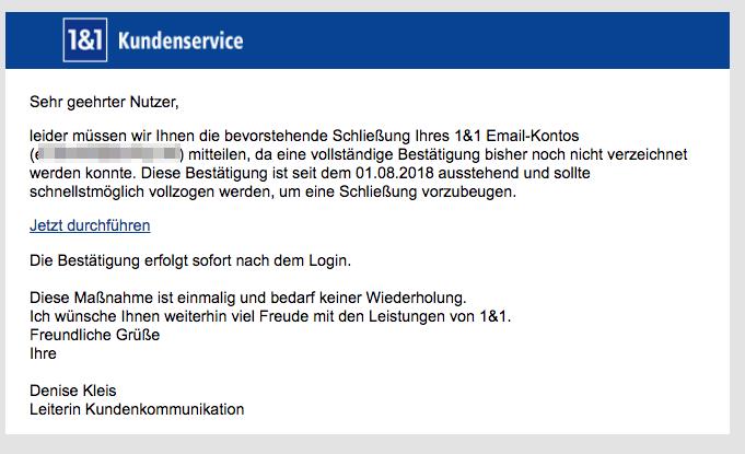 2018-08-03-1und1-Spam-Mail-Wir-haben-ein-Problem-mit-Ihrem-1und1-E-Mail-Konto-festgestellt