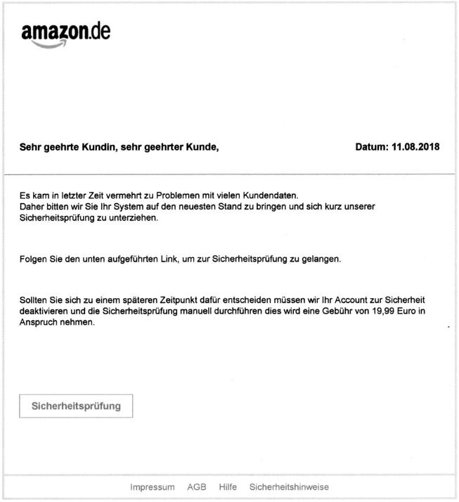 2018-08-14 Phishing Amazon