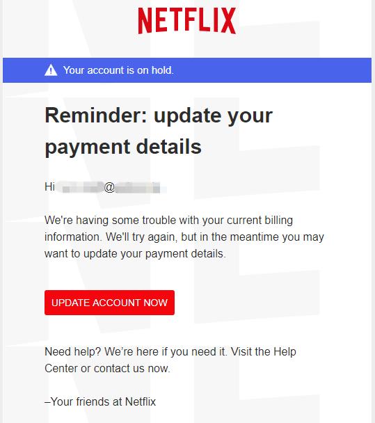 2018-08-17 Netflix Spam E-Mail